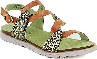 7ca0c9ed9e17 Laura Vita Dorry 01 SL3185-1 Womens Leather Sandals - Orange UK 6