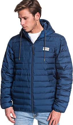 Quiksilver Scaly - Hooded Puffer Jacket - Men - XL - Blue