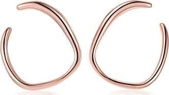 Monica Vinader Nura Reef Wrap earrings - PINK