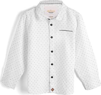 Milon Camisa Milon Menino Padronagens Branca