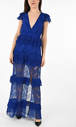 Just Cavalli Frill V-Neck Dress size 40