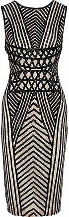 Rachel Gilbert Rachel Gilbert Woman Lucina Beaded Tulle Dress Black Size 3