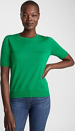 Contemporaine Fine knit short-sleeve sweater