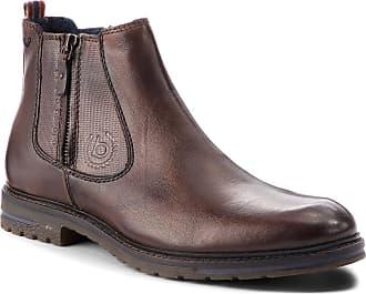 0fbd5ed565555 Bugatti Boots BUGATTI - 321-61830-4100-6100 Dark Brown1