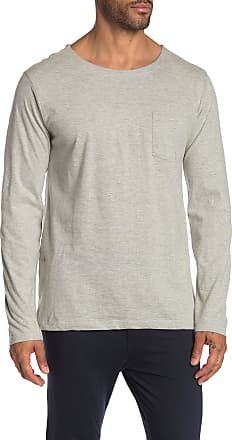 Unsimply Stitched Lightweight Long Sleeve Pocket T-Shirt