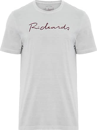 Richards T-SHIRT MASCULINA MEIA MALHA SILKADA MANU - CINZA