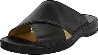 5a3bf9a2455198 Beppi Herren Leder-Schuhe mit Komfortsohle - Handgefertigte Männer  Pantoletten Made in Portugal 2167632 Größe