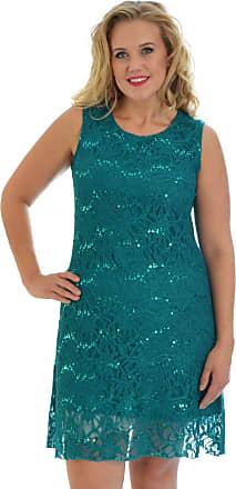 Nouvelle Collection Flapper Lace Dress Green 20-22