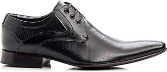 Di Lopes Shoes Sapato Social Masculino de Couro (44, CromoMouro)