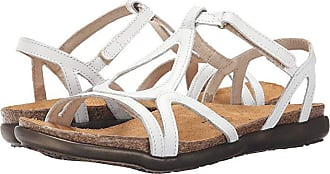 Naot Dorith (White Leather) Womens Sandals