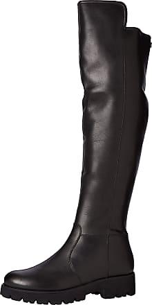 Steve Madden Womens Hypp High Boots, Black (Black Leather 017), 7 (40 EU)