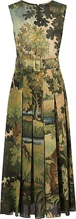 Oscar De La Renta printed landscape dress - Green