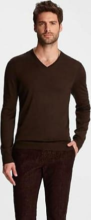 John Varvatos WASCHBARER WOLLE-PULLOVER - wool | chocolate | xxlarge - Chocolate