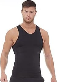 Under Armour sleeveless compression tank top with RUSH technology promoting more energy strength and stamina