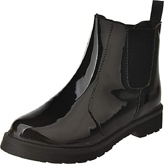 Yvelands Rain Boots Women Ladies Casual Waterproof PVC Short Ankle Wellington Willes Waterpoof Shoes Black