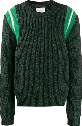 Stella McCartney Suéter listrado de tricô - Preto