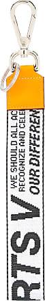 Ports V Chaveiro com logo bordado de couro - Estampado