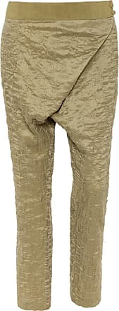 The Crocale Harem Silk Wool Pants