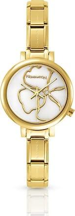 Acotis Limited Nomination Paris Zirconia Classic Comp Strap Gold Watch 076021/008