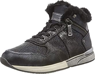 Mustang High Top Sneaker, Baskets Hautes Femme, Gris (Graphit 259), 40 d3c79d225102