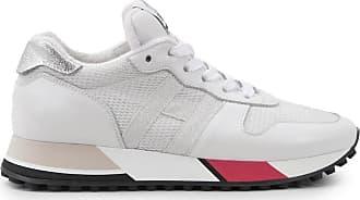 Hogan Sneakers H383, SILBER,WEISS, 34.5 - Schuhe