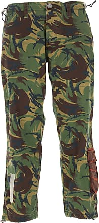 Off-white Pants for Men On Sale, camouflage, Cotton, 2017, 29 30 32