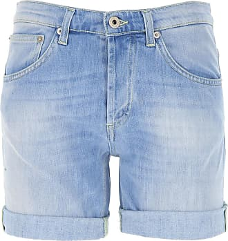 Dondup Shorts for Women On Sale, Light Blue, Cotton, 2019, 25 26 27 28 29 30