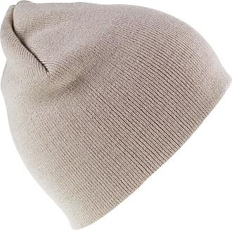 Result Unisex Winter Soft Feel Acryllic Beanie Hat Stone OneSize