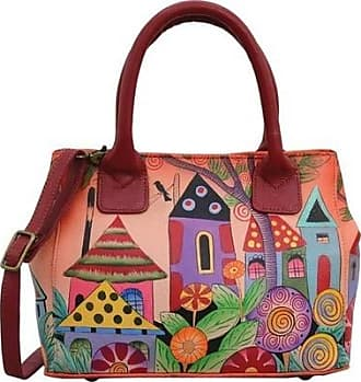 Anuschka ANNA by Anuschka Womens Hand Painted Small Convertible Tote 8330 6a7e35670c