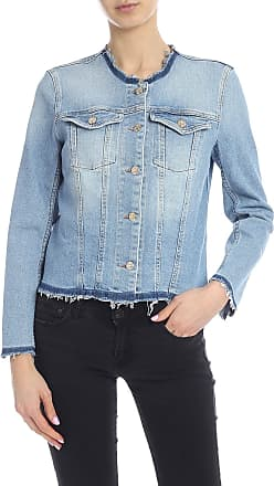 7 For All Mankind Luxe Vintage Monterey denim jacket in light blue