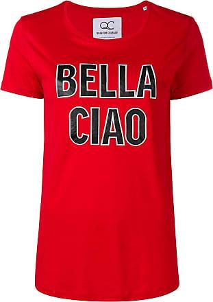 Quantum Courage Camiseta Bella Ciao - Vermelho