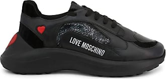 Love Moschino Womens Shoes Sneakers JA15296G18IF100A Size 36 Black