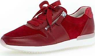 Gabor Sneaker low Rot Glattleder
