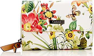 950bd0e010 Gabor Granada Bloom - Portafogli Donna, Bianco (Weiß), 14x10x4.5 cm