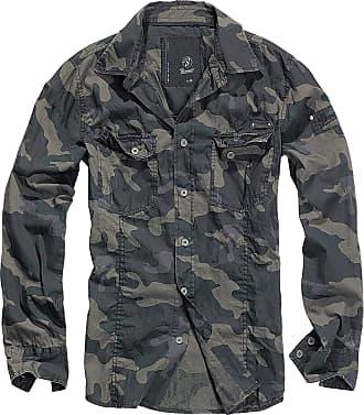 Brandit men slim mens shirt B-4005 - Multicolour - XXX-Large