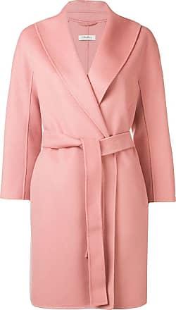 Max Mara belted wool coat - Pink