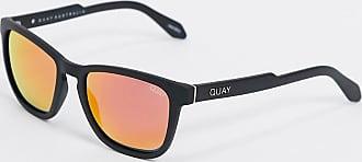 Quay Hardwire - Sonnenbrille in Schwarz und Orange
