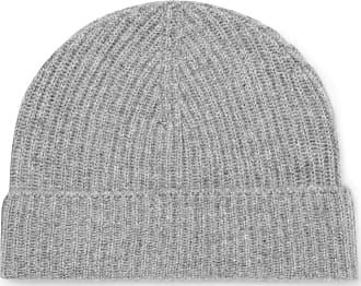 Lock & Co Hatters Ribbed Cashmere Beanie - Gray