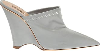 Yeezy by Kanye West Wedge Slides Womens Silver