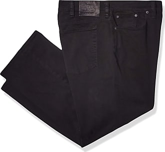 Lucky Brand Mens 181 Relaxed Straight Leg Jean, Black Coal, 50W x 30L