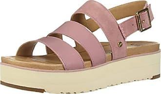 UGG Womens Braelynn Flat Sandal, Pink Dawn, 12 M US