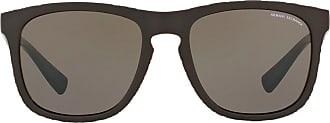 A|X Armani Exchange Óculos de sol quadrado - Marrom