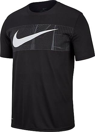 Nike Shirt Herren Funktionsshirt neongelb X Neck Gr. M