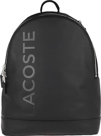 Lacoste Backpacks - Cuir Animation Backpack Black - black - Backpacks for ladies