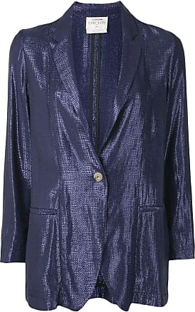 Forte_Forte Fashion Woman 7265MYJACKET5050 Blue Viscose Jacket | Spring Summer 20