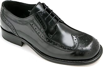 Ikon Mens KROMBY 2 Black Brogue Shoe UK 10