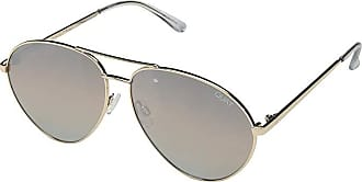 Quay Eyeware Just Sayin (Gold/Brown) Fashion Sunglasses