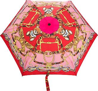 Moschino Toy scarf-print umbrella - Red