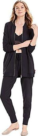 Natori Womens Sunset BLVD. Bomber Jacket, Black, Small