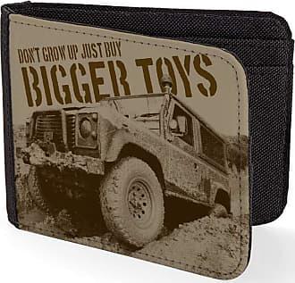 Bang Tidy Clothing Buy Bigger Toys 4x4 Off Road Sublimation Printed Purse Card Holder Wallet
